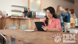 Screen shot from IBM Watson commercial by Envision Response