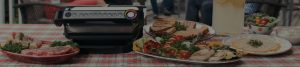 Header for T-Fal Optigrill project page