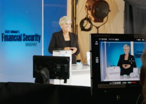 Behind the scenes on Suze Orman commercial by Time-Life and Envision Response