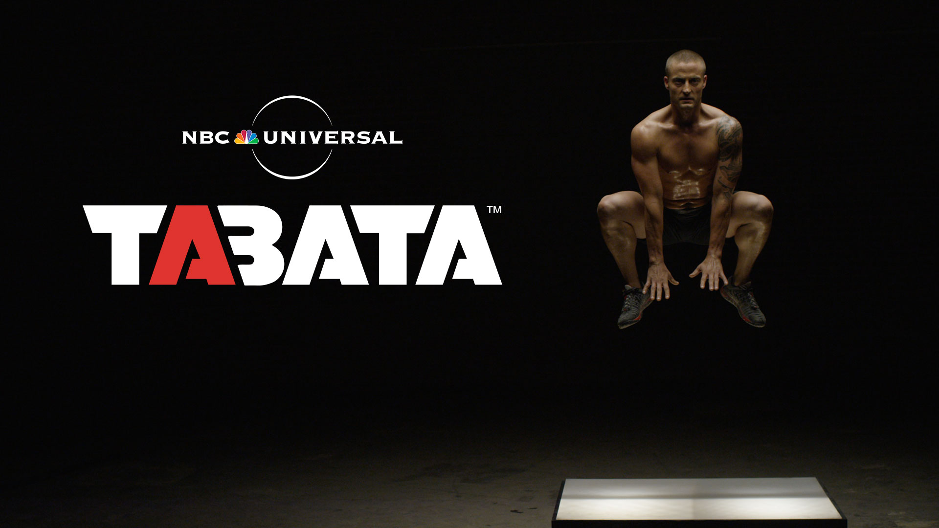 Screen shot from Tabata commercial by Envision Response and NBC Universal