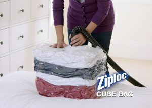 Screen shot from Ziploc commercial by Envision Response